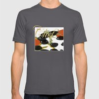 antipasto / food , olive, tomatos, kitchen art, pop art Mens Fitted Tee Asphalt SMALL