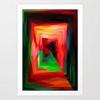 A Maze Ment Art Print