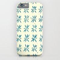 LCD teal iPhone 6 Slim Case