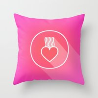 Icon No.2. Throw Pillow