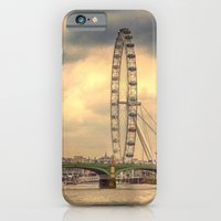 iPhone & iPod Case featuring Eye of the City by Shalisa Photography
