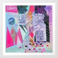 bunnyland Art Print
