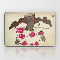 Apples And Tree Trunks A… Laptop & iPad Skin