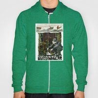 Surfing The History Of Trees Hoody