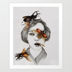 Disease III Art Print