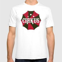 Cirkus Mens Fitted Tee White SMALL