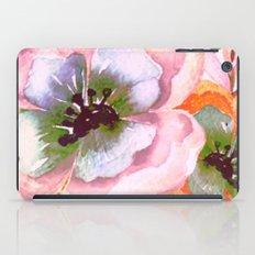 vintage big flower iPad Case