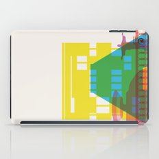 Shapes of Rio. Accurate to scale iPad Case