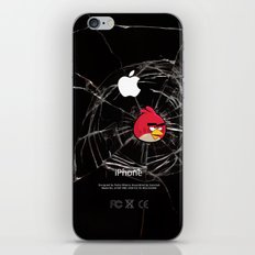 Angry Birds Breaking Glass iPhone & iPod Skin