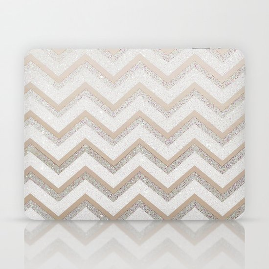 NUDE CHEVRON Laptop & iPad Skin