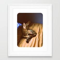 Back in the Day... Framed Art Print