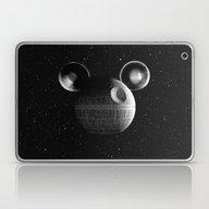 Laptop & iPad Skin featuring That's No Moon... Disney… by Shamgar