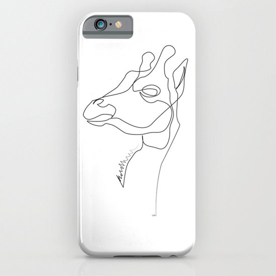 Giraffe Line iPhone & iPod Case