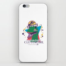 Clevergirl iPhone & iPod Skin