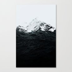 Those Waves Were Like Mo… Canvas Print