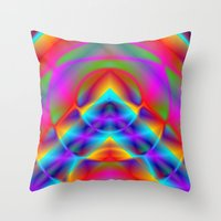 CAPSTONE RAINBOW Throw Pillow