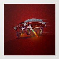 57 Nomad Really Mad Canvas Print