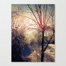 Snow Day 2 Canvas Print