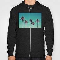 California Palm Trees Hoody