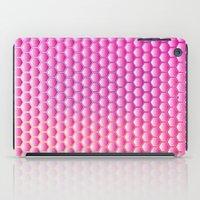 Pink Honeycomb iPad Case