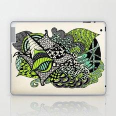 The flying snail Laptop & iPad Skin