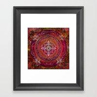 Root Chakra Framed Art Print