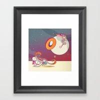 Stay A Float Framed Art Print