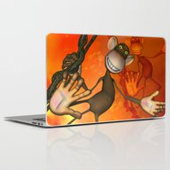 Happy Monkey Laptop & iPad Skin