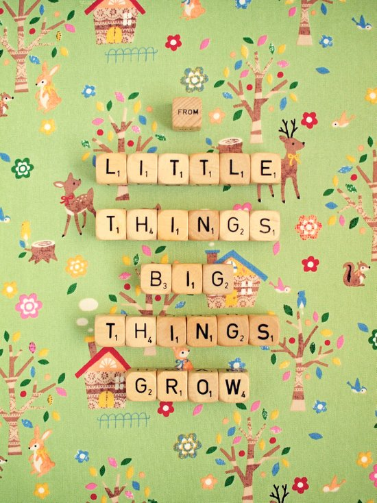 From Little Things Big Things Grow Art Print
