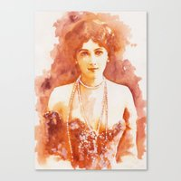 Perls Canvas Print