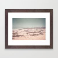 Hard to Find Your Way Framed Art Print