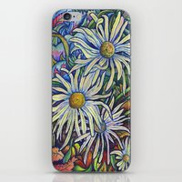 Wild Daisies iPhone & iPod Skin