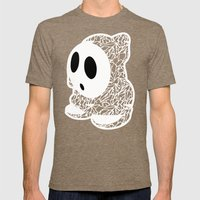 ShyGuy #CrackedOutBadGuys Mens Fitted Tee Tri-Coffee SMALL