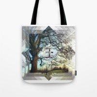 Geo Tree Tote Bag