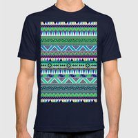 OVERDOSE ESODREVO Mens Fitted Tee Navy SMALL