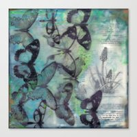 Butterfly Migration Canvas Print