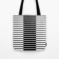Zebras Play Piano Duet Tote Bag