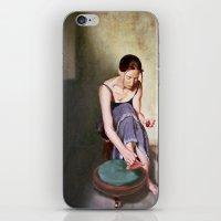 Painting Toenails iPhone & iPod Skin