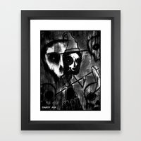 The Wicked Bitch Framed Art Print