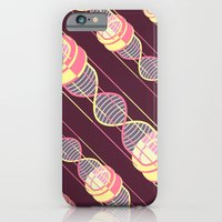 iPhone Cases featuring power time gravity love pattern by freshinkstain