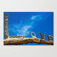 Love And Blue Sky Canvas Print