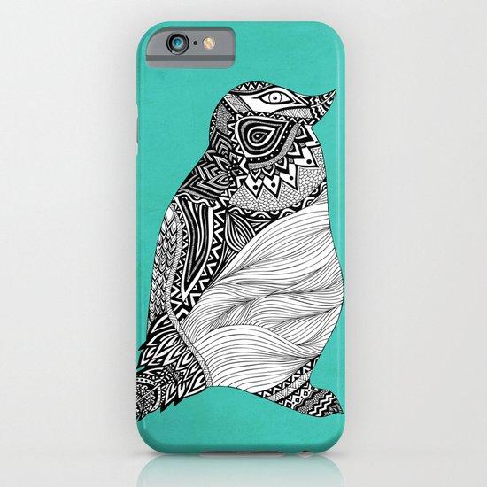 Tribal Penguin iPhone & iPod Case