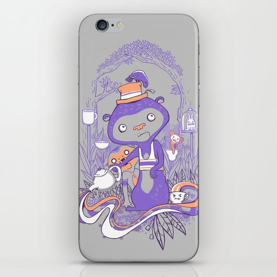 Tea Monkey Tea Party iPhone & iPod Skin