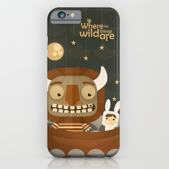 Where the wild things are fan art iPhone & iPod Case