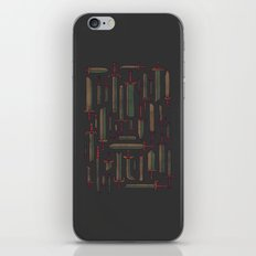 Bunch of Blades iPhone & iPod Skin