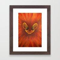 Moyo Wa Simba Framed Art Print