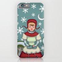 Peaceful Snow  iPhone 6 Slim Case