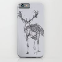 iPhone & iPod Case featuring The Peryton by Kirsten McNee