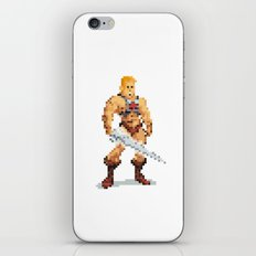 By The Power Of 8-Bit iPhone & iPod Skin