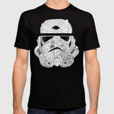 Gore Trooper Blk/Wht Mens Fitted Tee Black SMALL